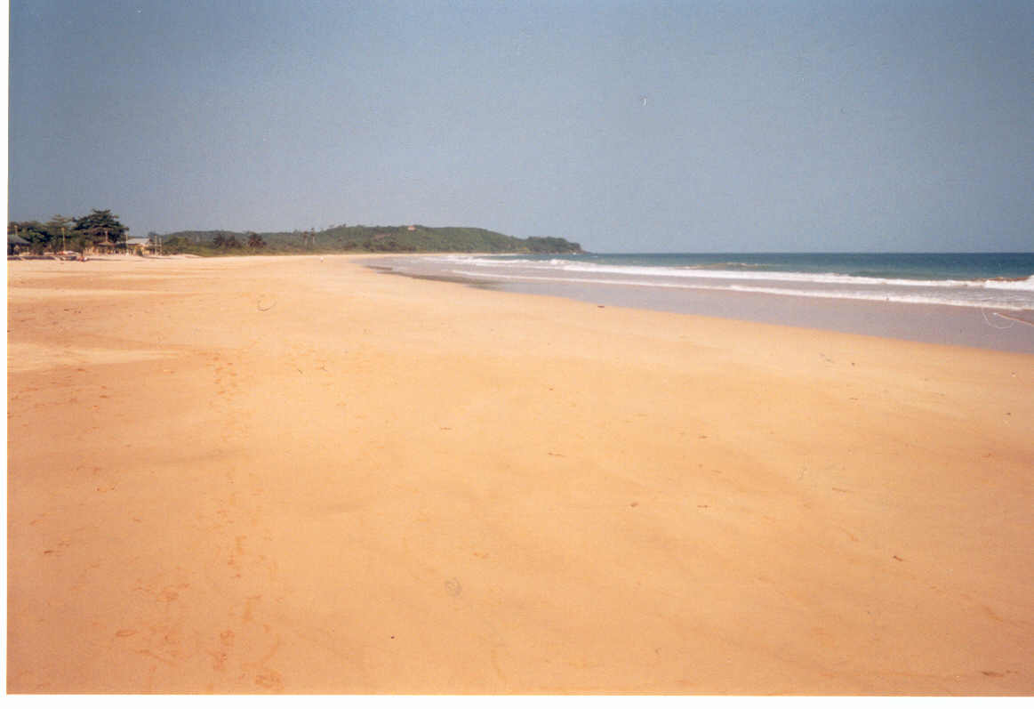 Busua Beach,Ghana - go to www.BlackTravels.com